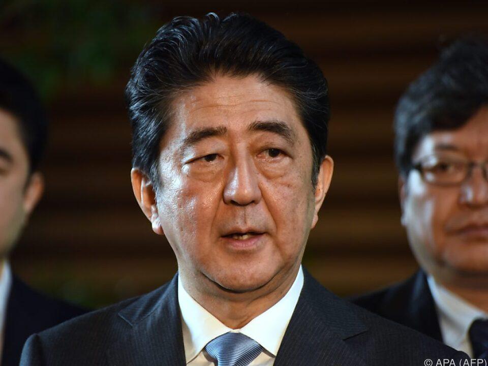 Shinzo Abe kommt nach Brüssel