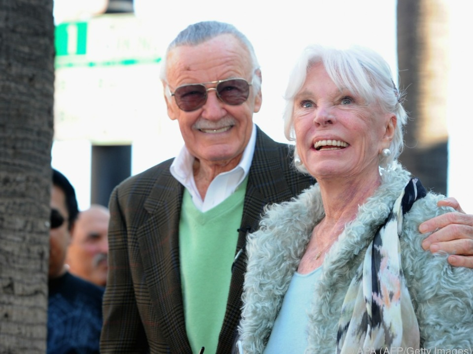 Stan und Joan Lee waren seit 1947 verheiratet