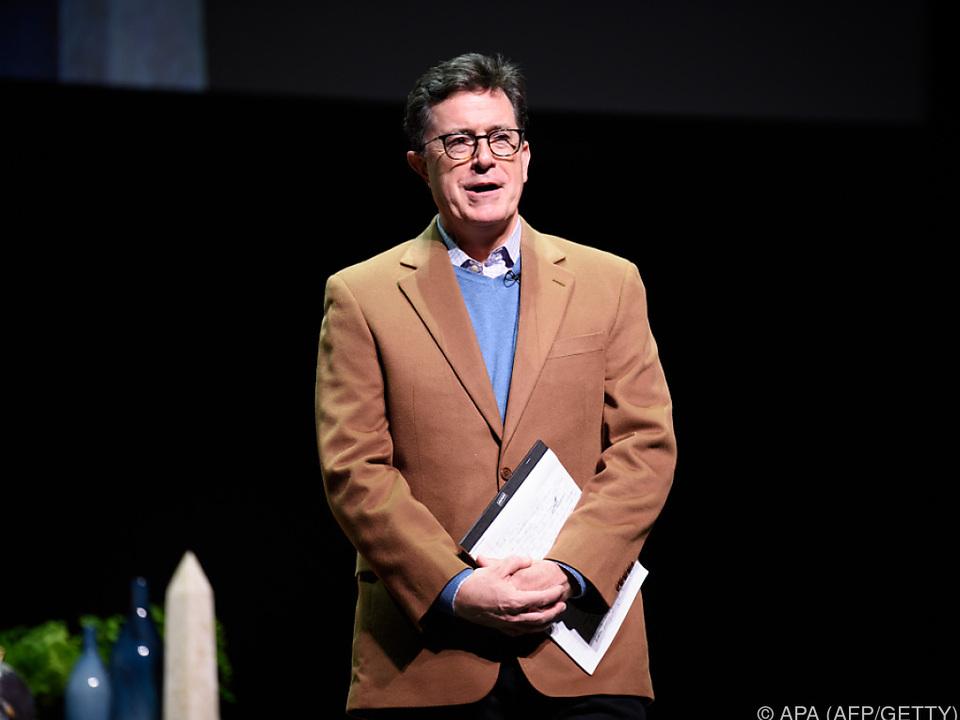 Stephen Colbert will Trumps Geschichten verewigen
