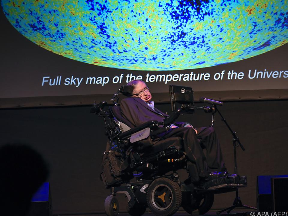 Stephen Hawking liegt die Erde am Herzen