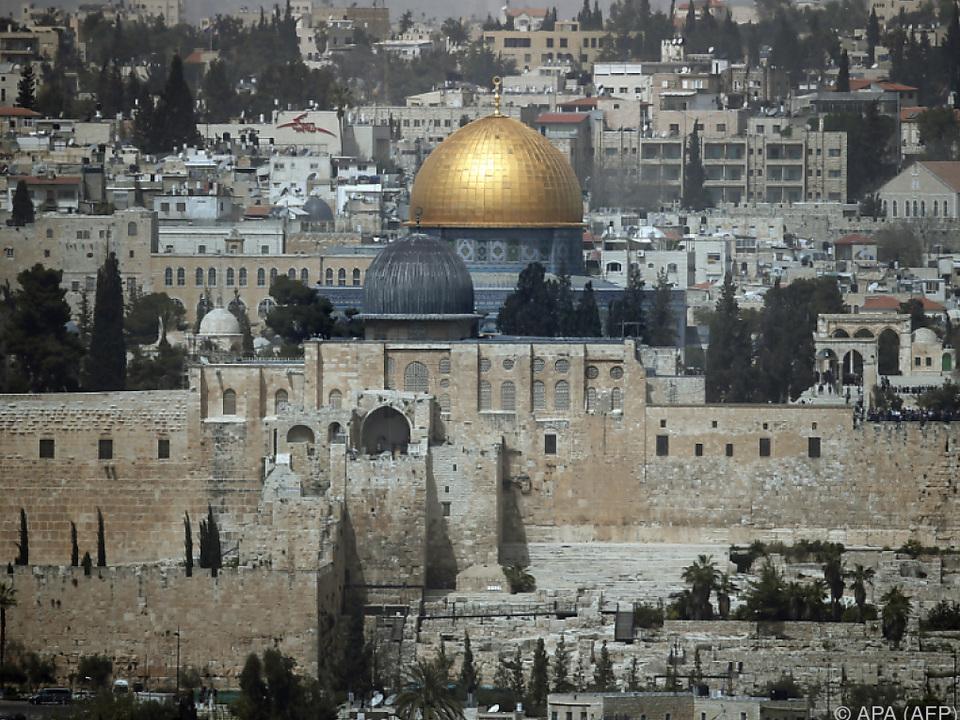Streit um Tempelberg in Jerusalem eskaliert