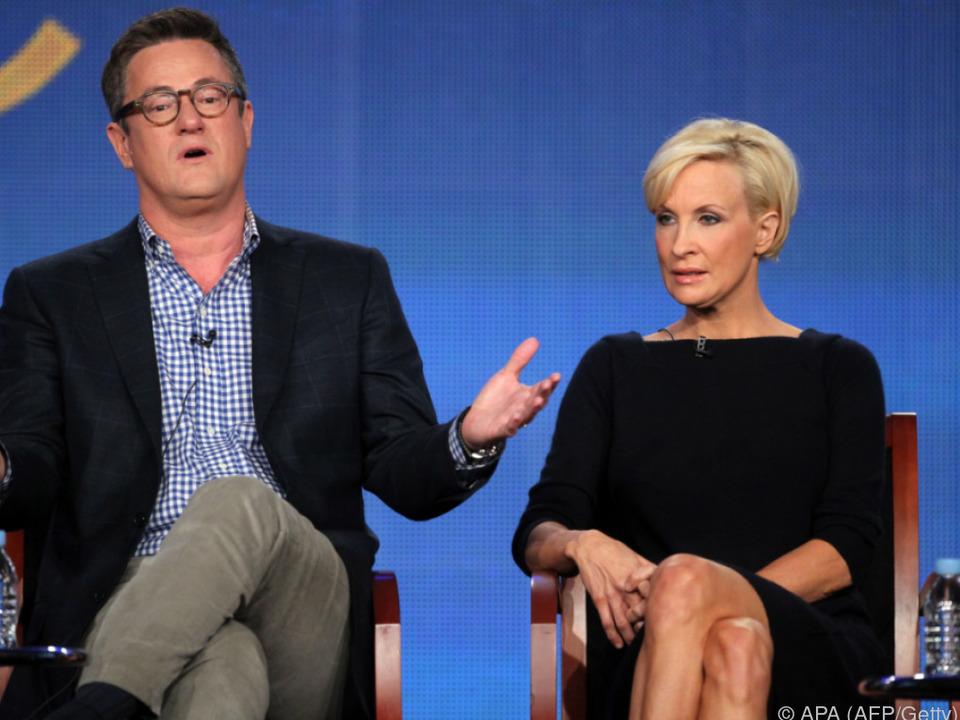 Trump beleidigte Joe Scarborough und Mika Brzezinski aufs Übelste