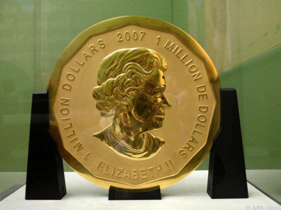 Über den Verbleib der Münze ist nichts bekannt