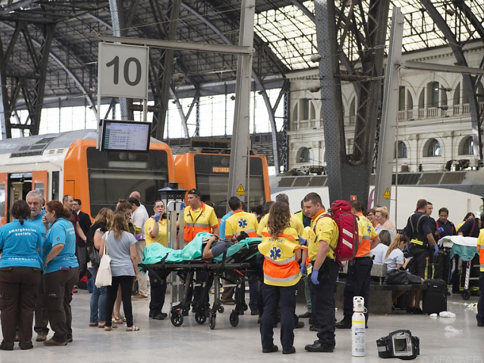Unfall in der Station Franca während des Morgenverkehrs