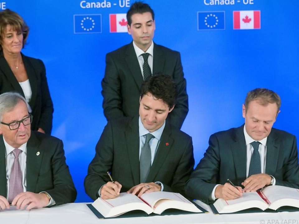 Unterzeichnet wurde Abkommen im Oktober 2016