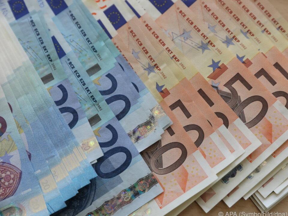 Unverhoffte Geldsegen für Passanten