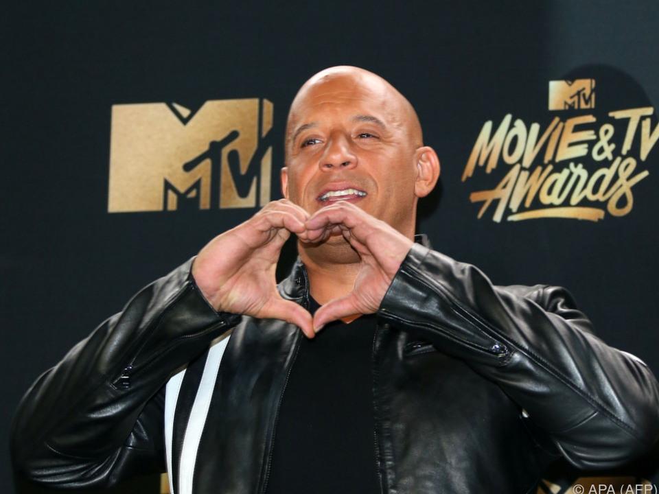 Vin Diesel heißt eigentlich Mark Sinclair Vincent