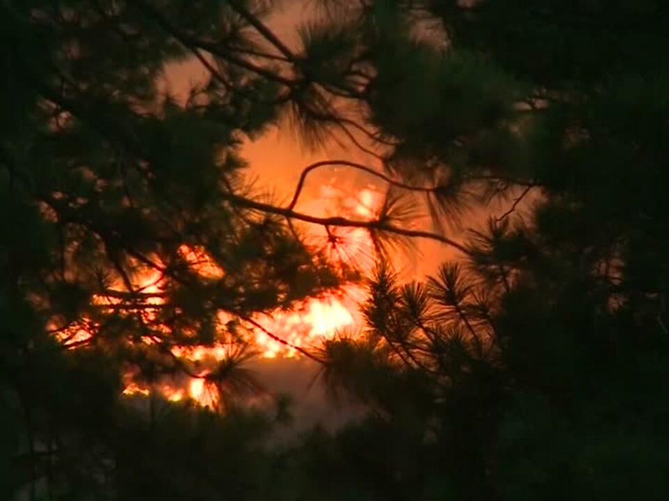 Waldbrand wütet in Kalifornien