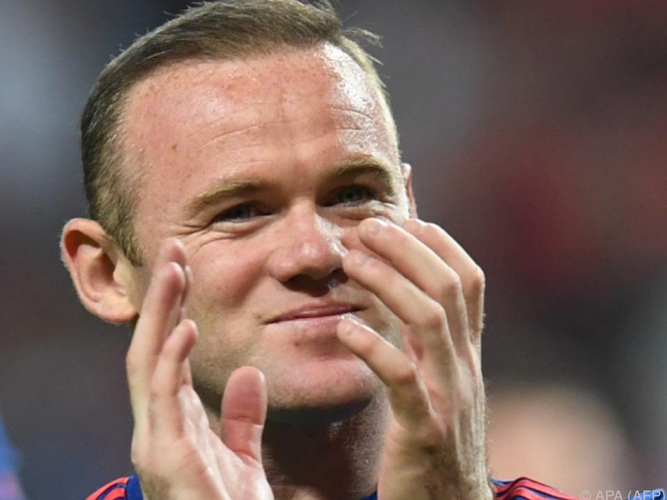 Wayne Rooney kommt nach Hause
