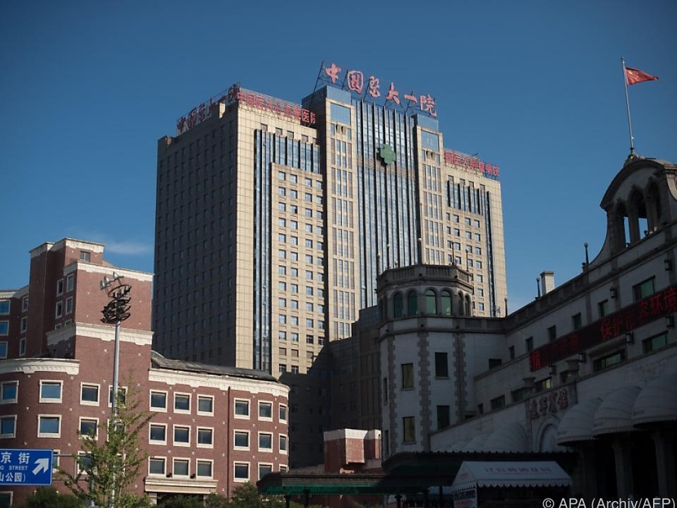 Xiaobo befindet sich in Shenyang im Krankenhaus
