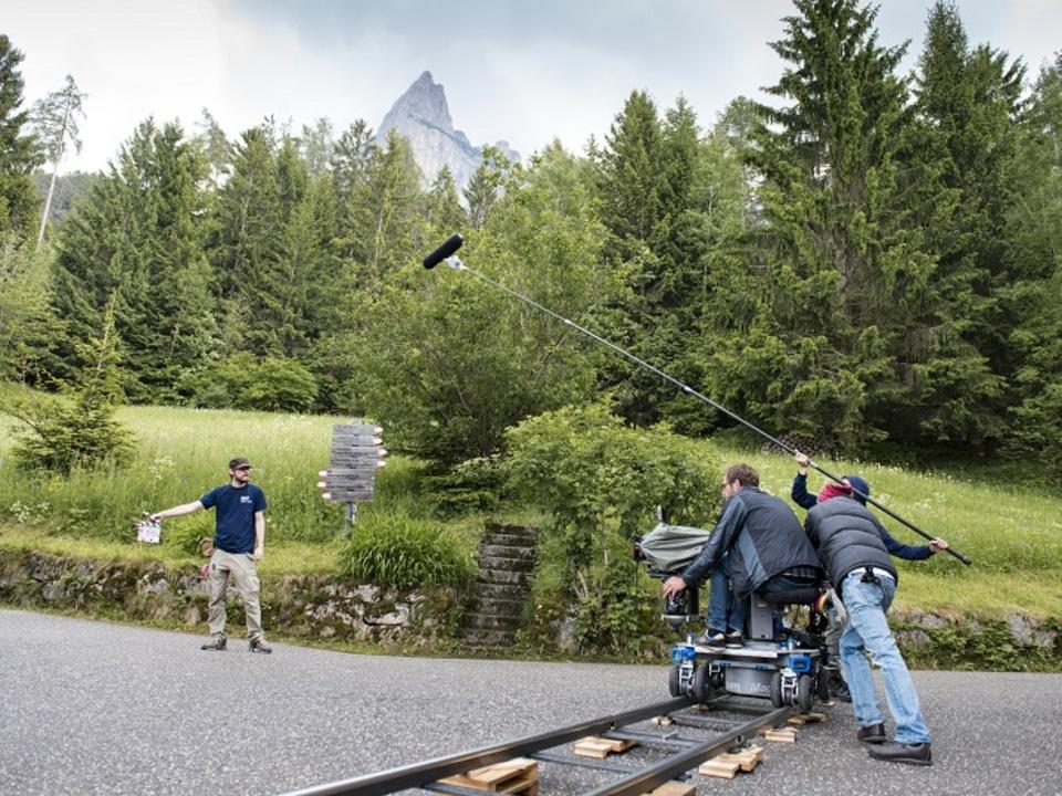 Filmset in Südtirol