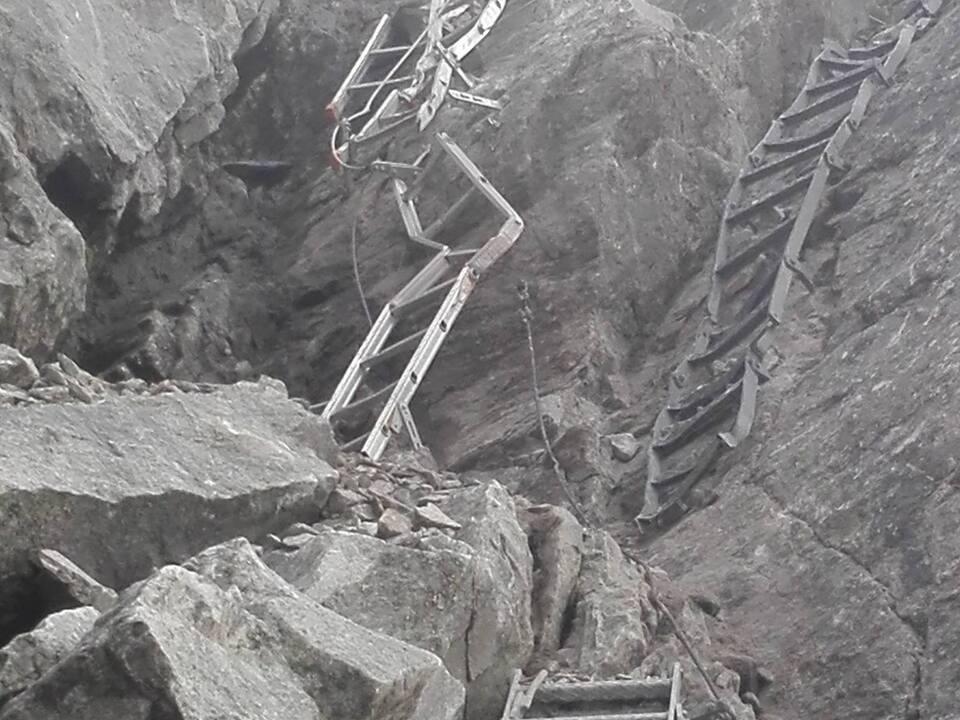 blitz schwarzensteinhütte klettersteig