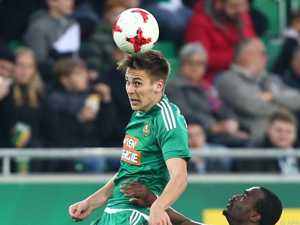 Ajax Amsterdam strebt offenbar Kauf von Rapids Wöber an