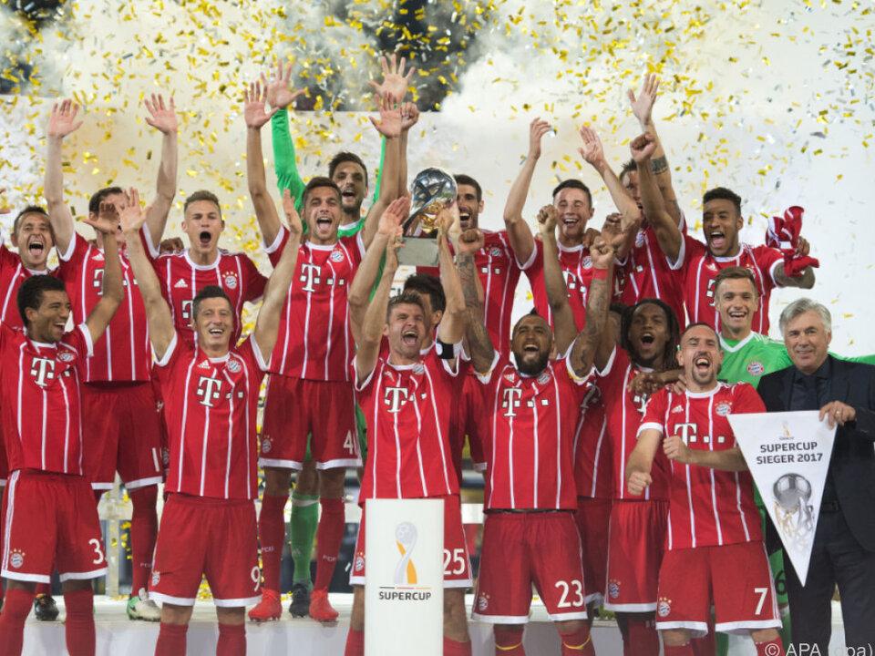 Am Ende jubelten wieder einmal die Bayern
