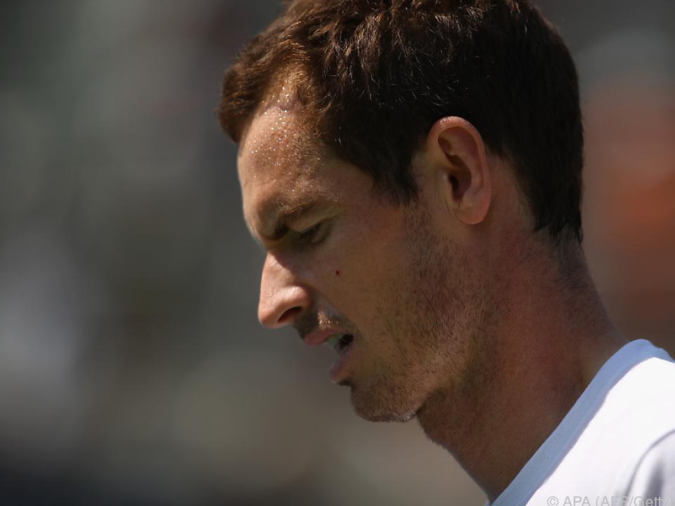 Andy Murray beim letzten Grand Slam Turnier der Saison nicht dabei