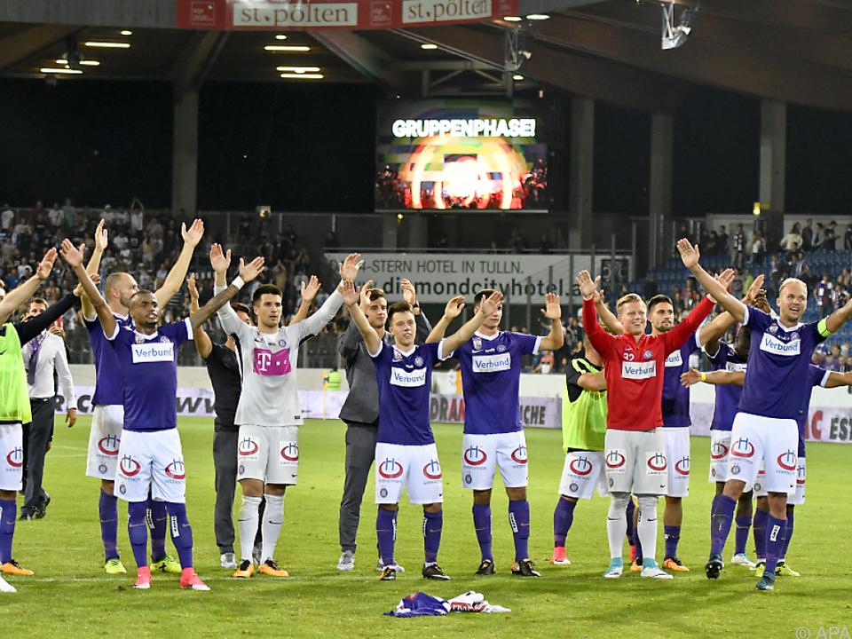 Attraktive Gegner warten in der Europa League auf die Austria