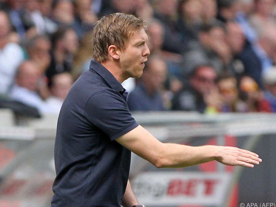 Auf Nagelsmann wartet Trainer-Duell mit Klopp