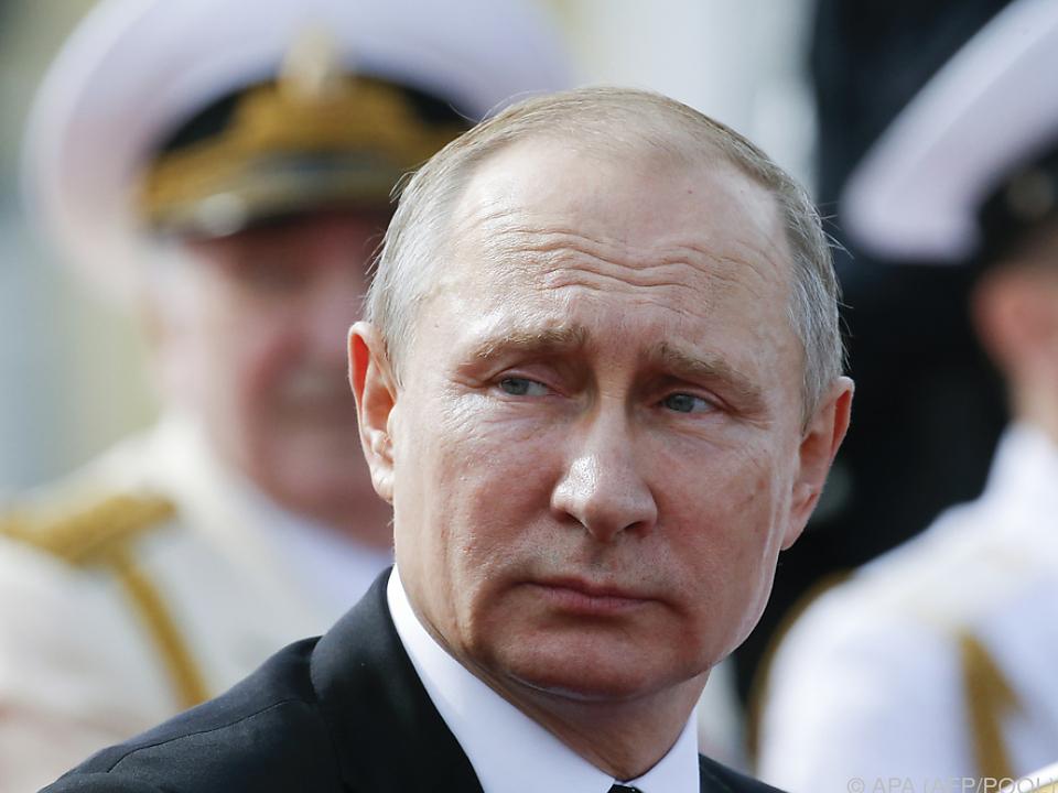 Auf Putin kommen neue Sanktionen zu