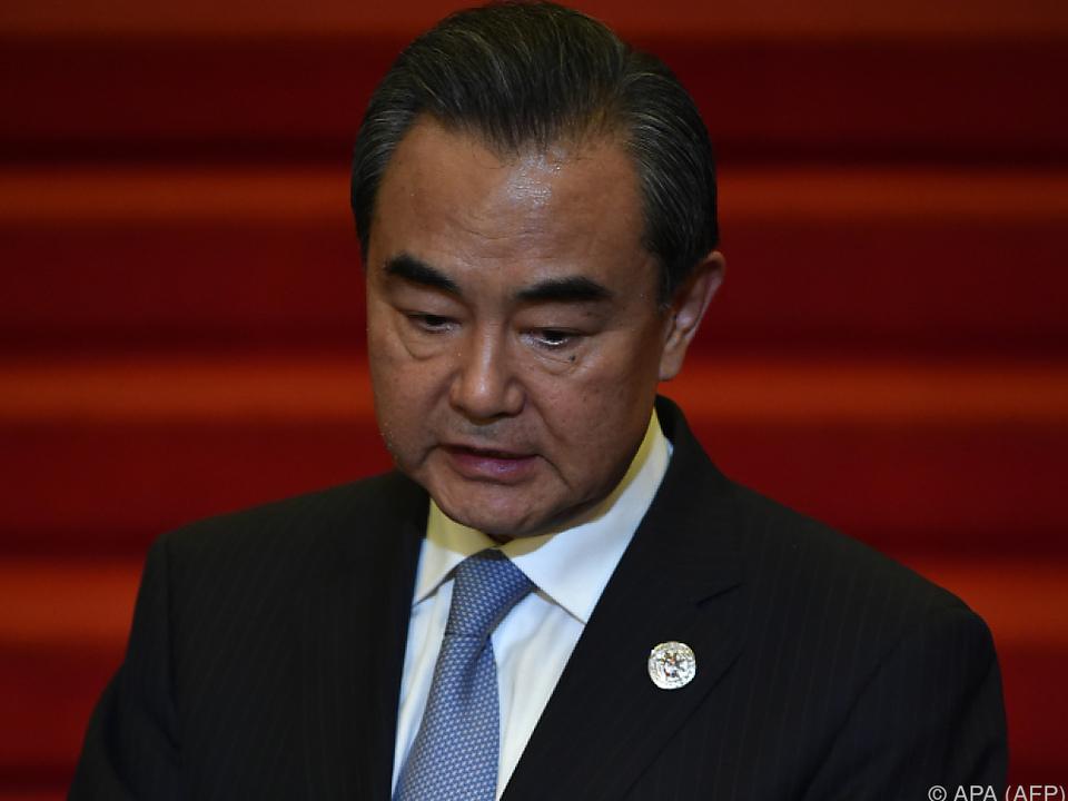 Außenminister Wang Yi für Frieden und Stabilität in der Region