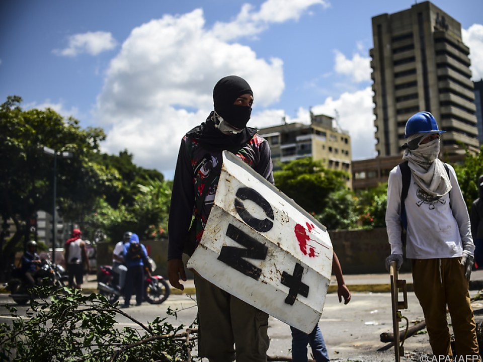 Bei Protesten in Venezuela kamen 124 Menschen ums Leben