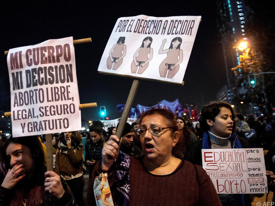 Bei Vergewaltigung oder Lebensgefahr für die Mutter ist Abtreibung erlaubt