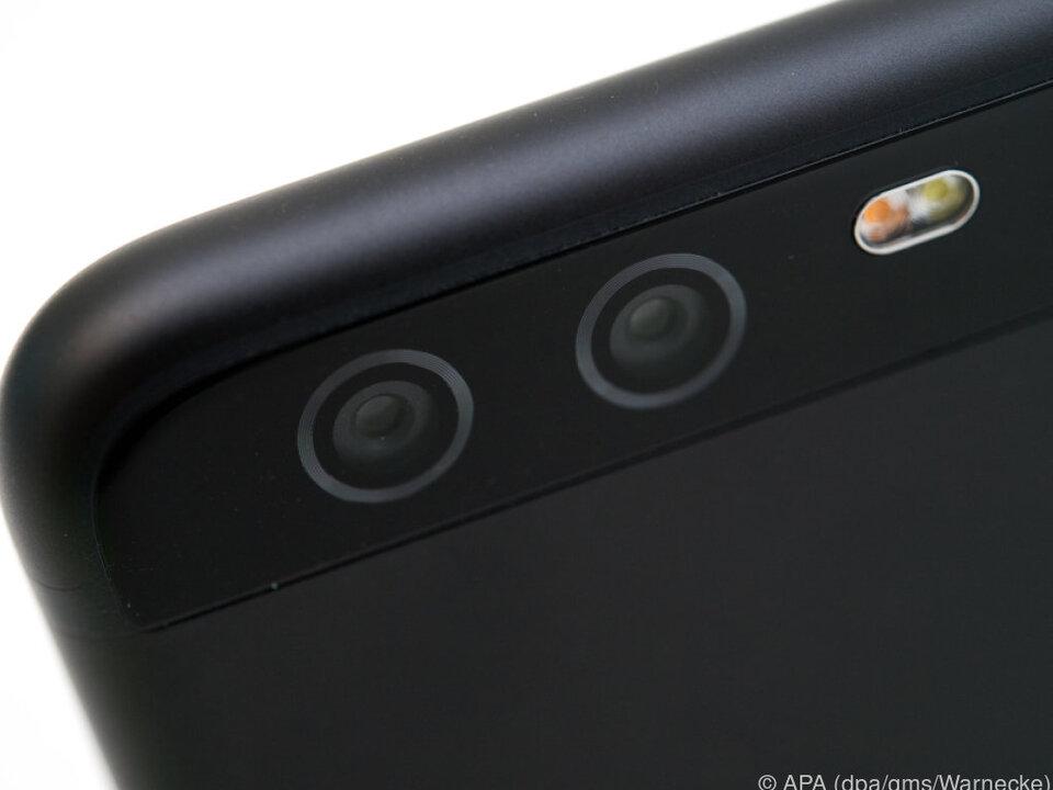 Leica-Doppelkamera beim Huawei P10