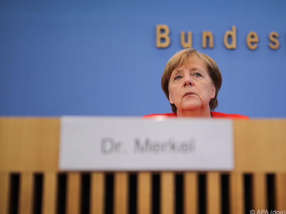 Merkel fordert Freilassung deutscher Bürger in der Türkei