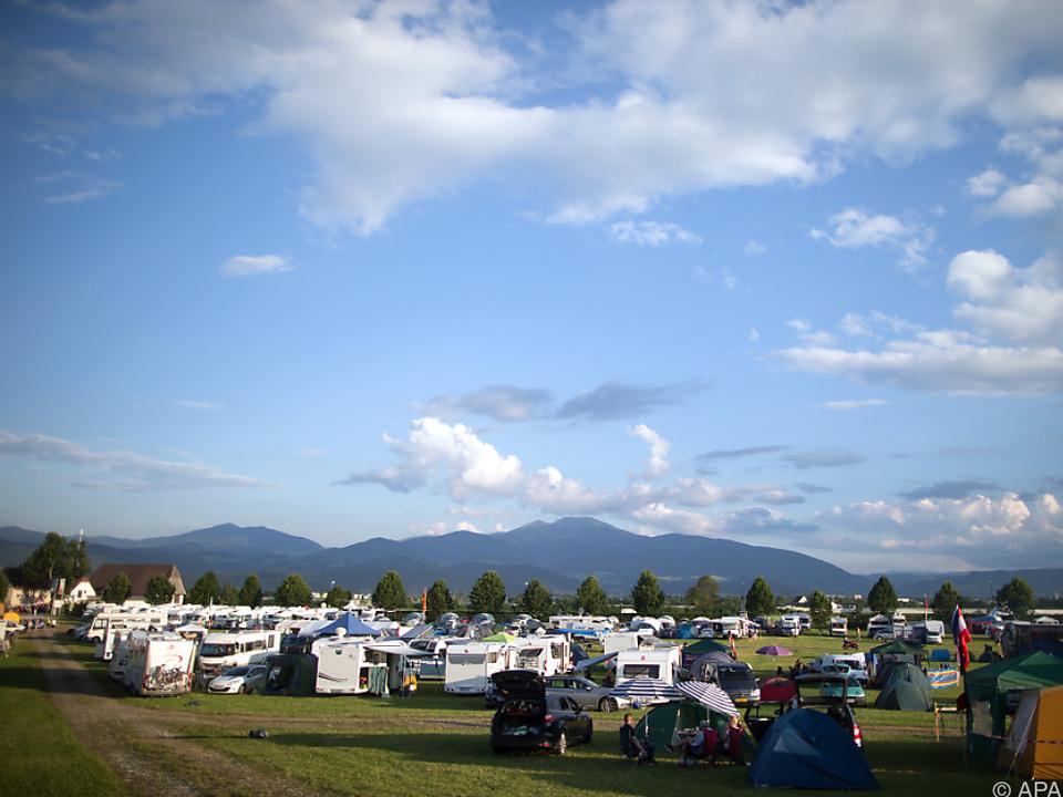 Campingurlaub steigt in der Gunst