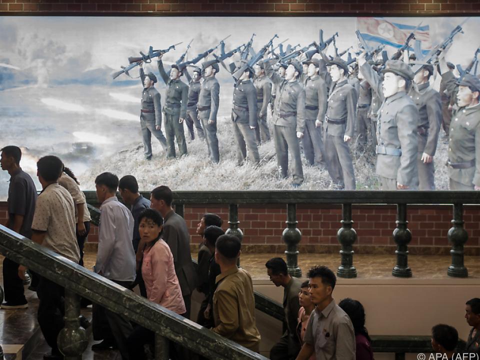 Das kommunistische Land zeigte bisher keine Reaktion
