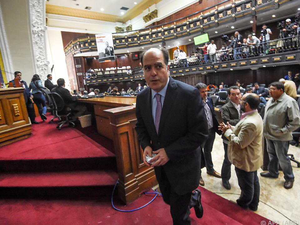 Das Parlament steht nicht hinter Maduro