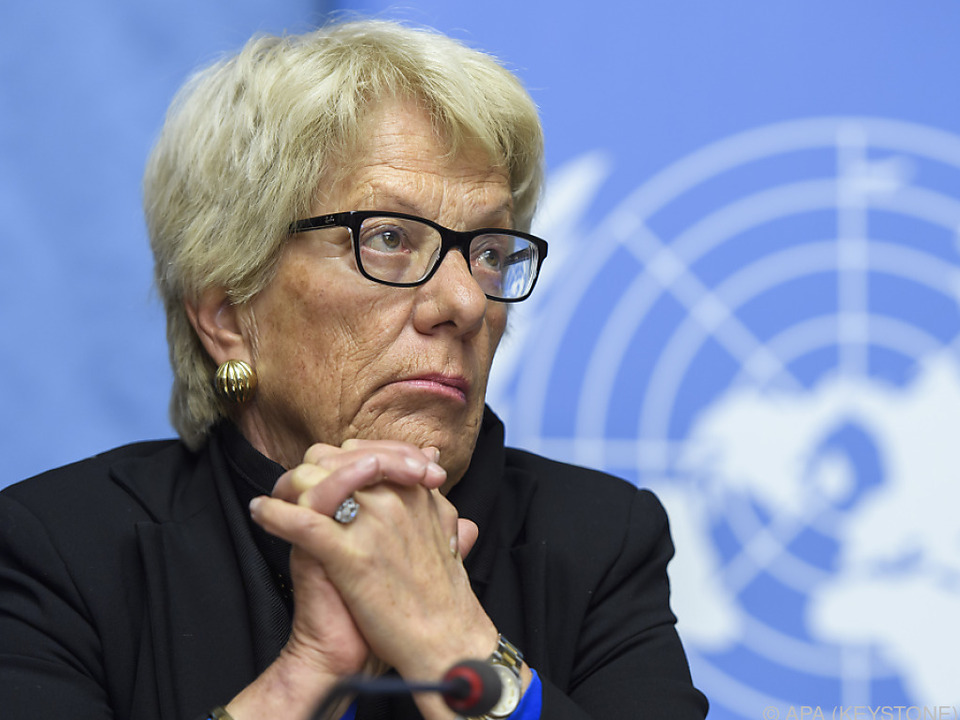 Del Ponte übt heftige Kritik an der Kommission