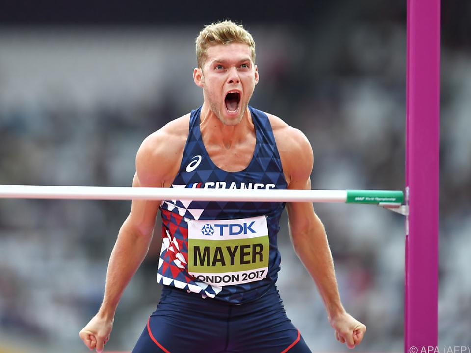 Der Franzose Mayer auf dem Weg zu WM-Gold