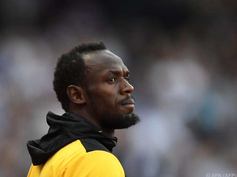 Der Jamaikaner steht vor seinem letzten Rennen