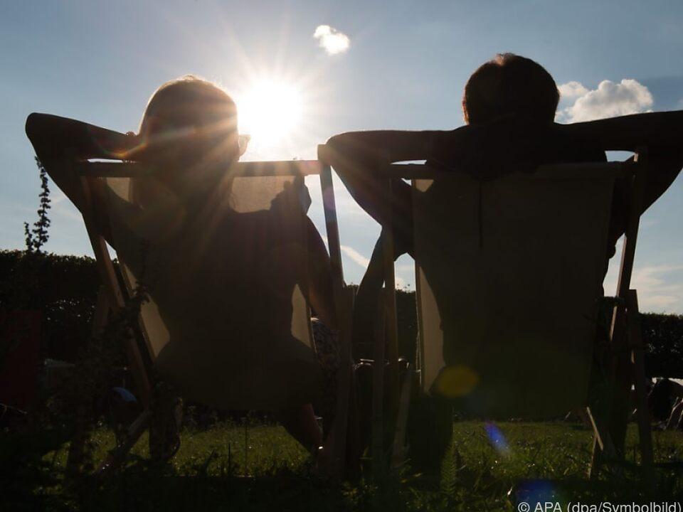 Der Sommer gibt sich noch nicht geschlagen