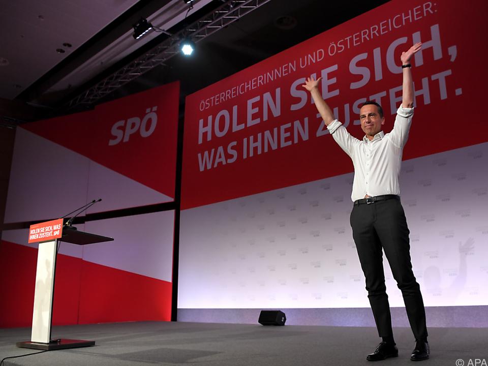Der SPÖ-Chef ist optimistisch