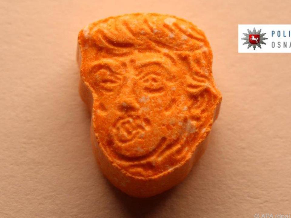 Der US-Präsident als Ecstasy-Tablette