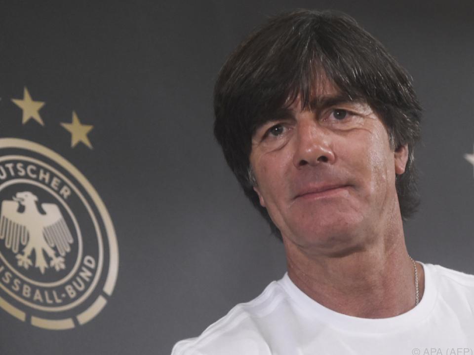 DFB-Coach Joachim Löw vor dem WM-Quali-Spiel gegen Tschechien in Prag