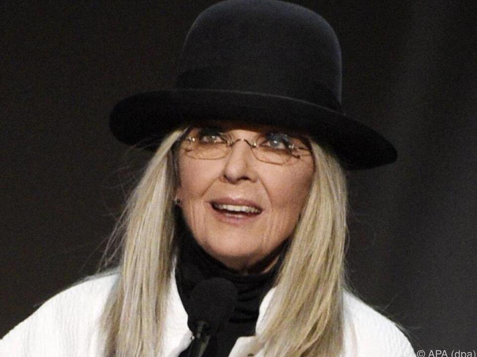 Diane Keaton hat in Beziehungen nicht geglänzt