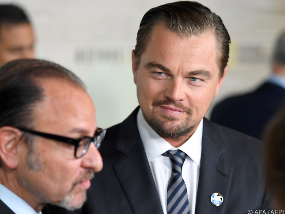 DiCaprio spendete eine Million US-Dollar