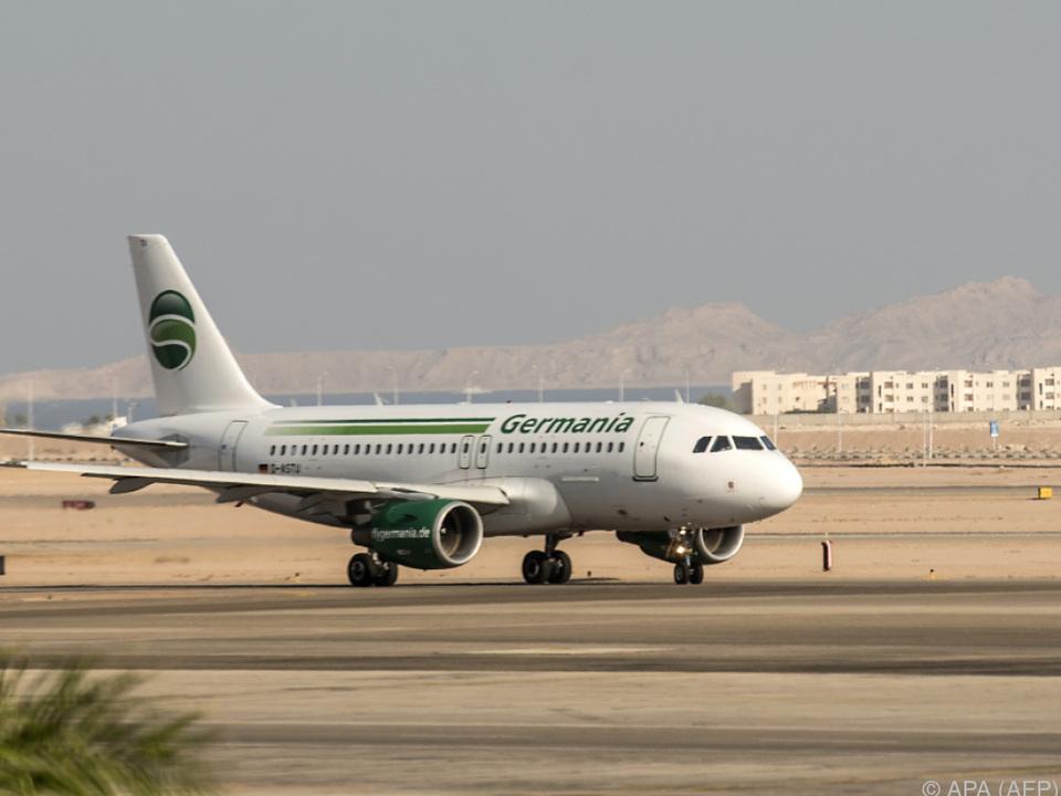 Die Fluggesellschaft Germania klagt