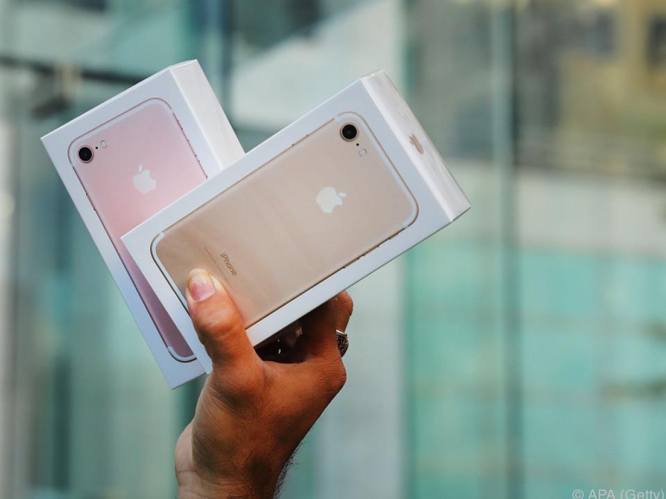 Die iPhone-Verkäufe schnellen nach oben