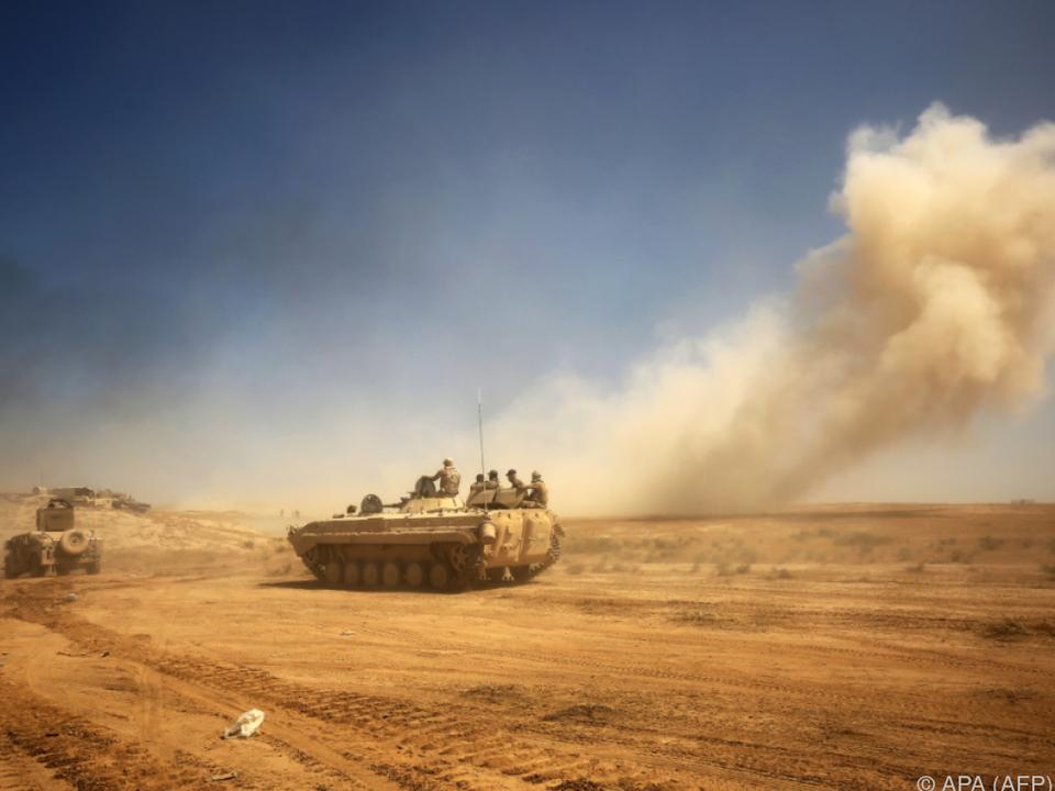 Die Offensive auf Tal Afar begann erst vor kurzem