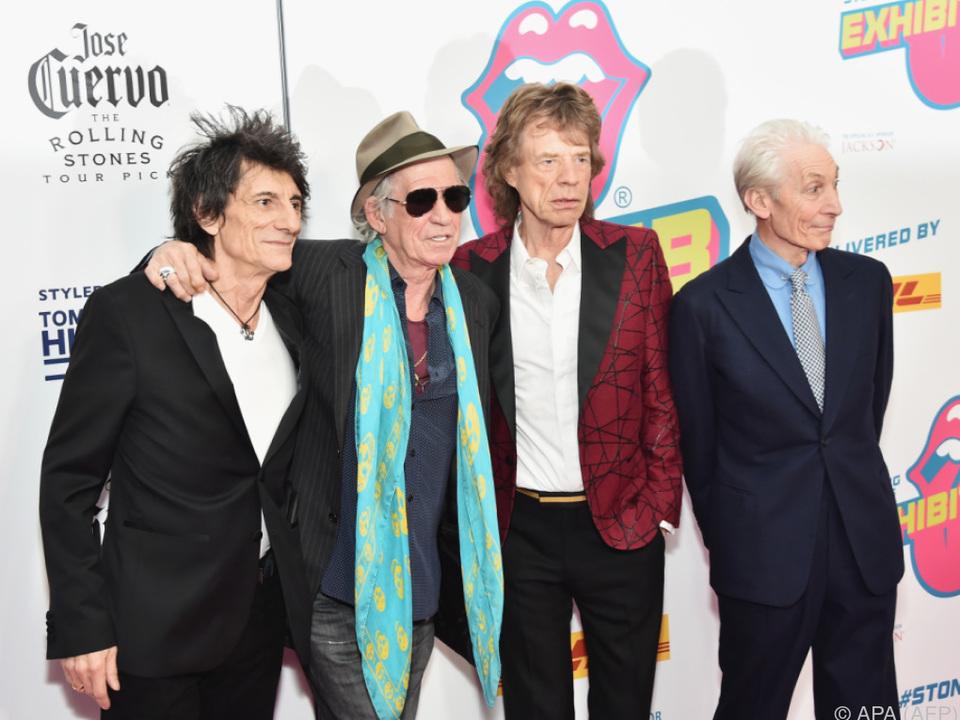 Die Rolling Stones kommen nach Spielberg