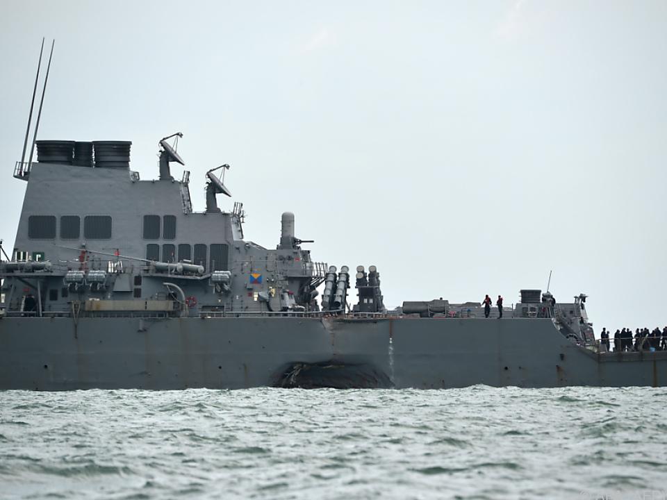 Die Vermissten befanden sich im gefluteten Teil des Schiffs
