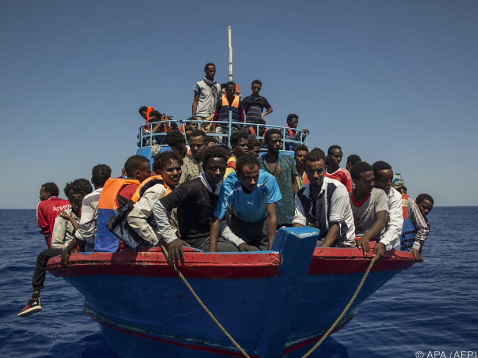 Die Zahl der Migranten soll reduziert werden