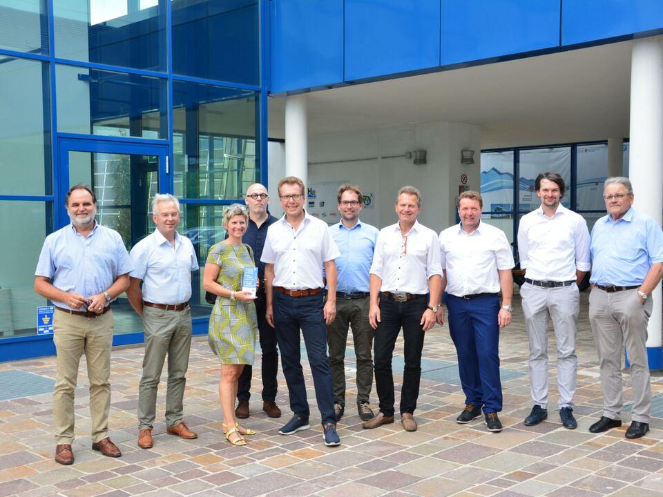 wasserstoff delegation