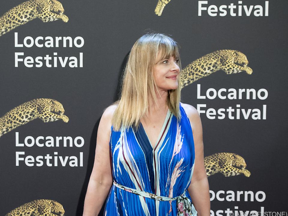 Ehrengast Nastassja Kinski bei der Festival-Eröffnung in Locarno