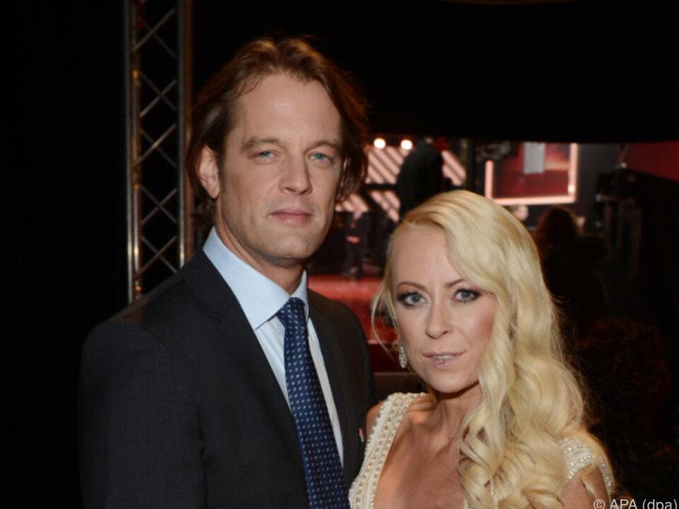 Elvers mit ihrem Ex im Jahr 2013