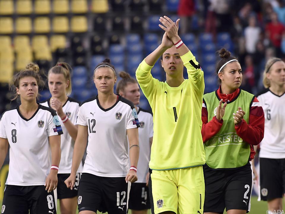 Enttäuschung für Österreichs Fußballerinnen
