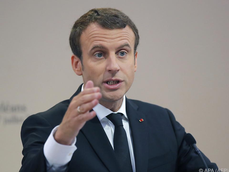 Erfolg für Macron